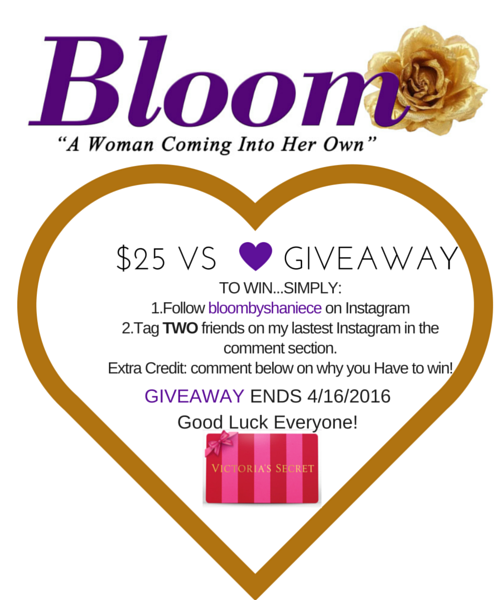 Bloom's First Give Away!